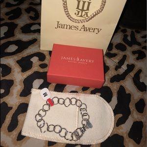 James Avery Quatrefoil Twisted Wire Link Bracelet